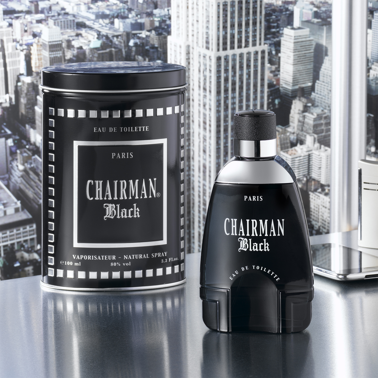 снимка на Chairman Black form men, 100 ml